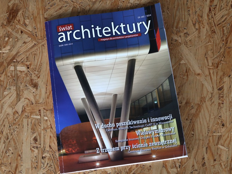 ARCHITECTURE MURATOR | Publications | About us