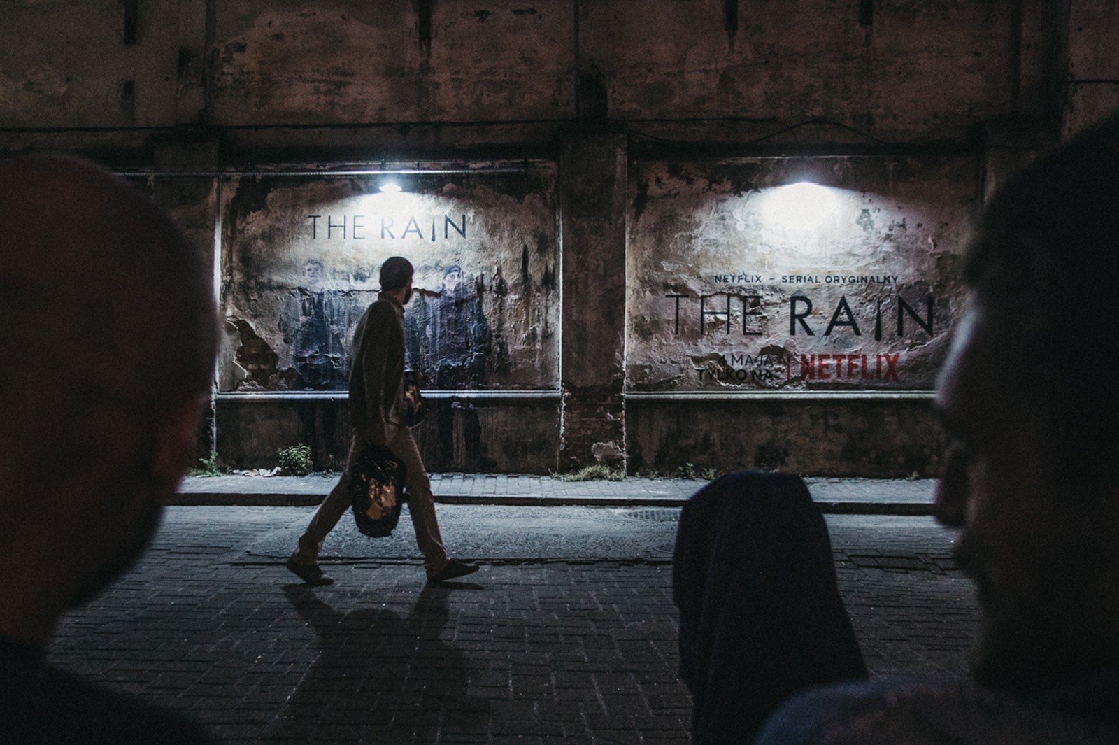 Cracow an adverting mural for Netflix | The Rain  | Portfolio
