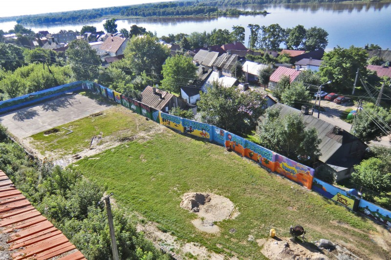 Czerwinsk upon Vistula River wall at sport facilities | Czerwinsk on the Vistula | CSR | About us