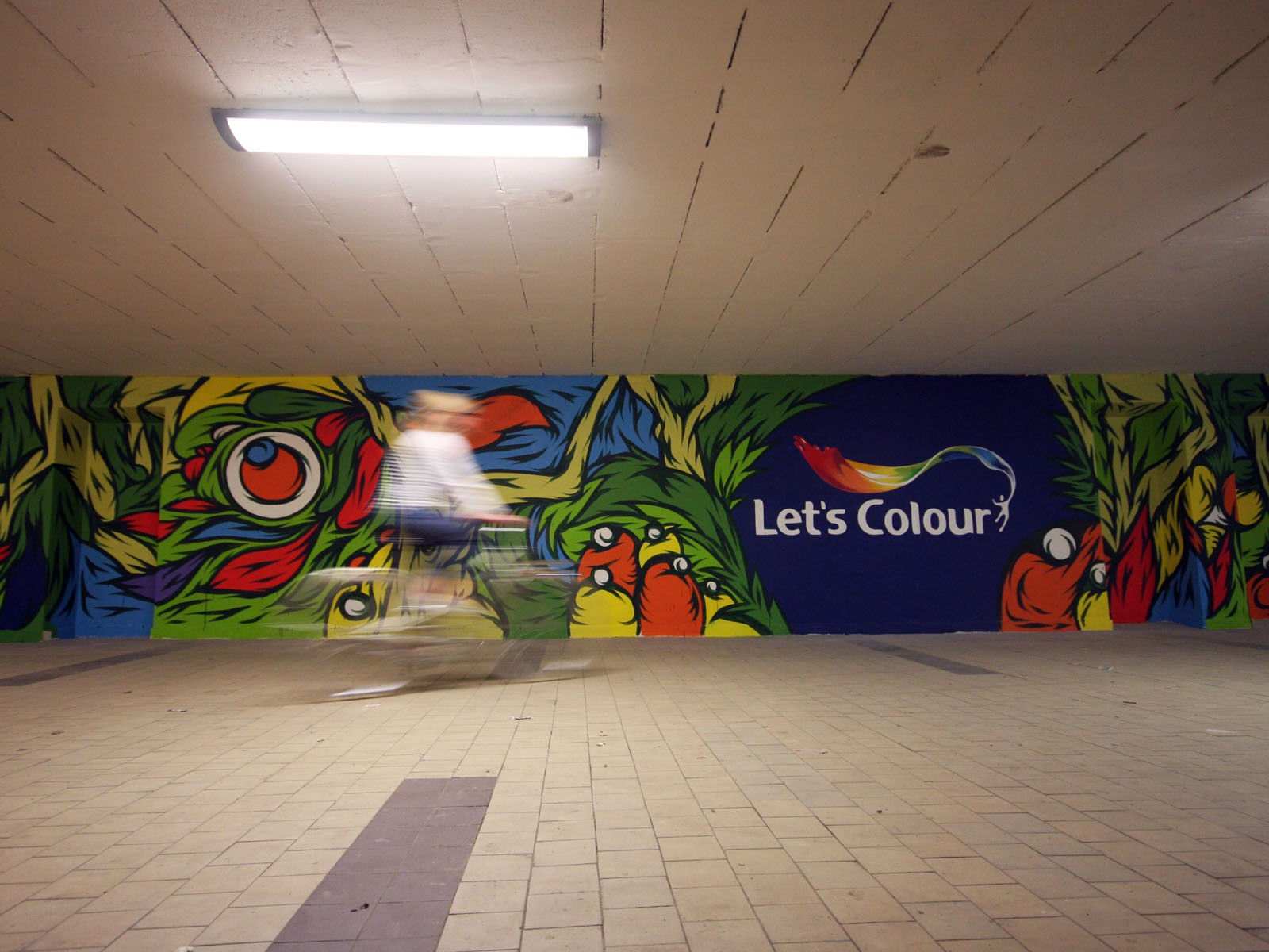 Dulux Lets colour - Swanski - Gdansk | Let's Colour | Portfolio
