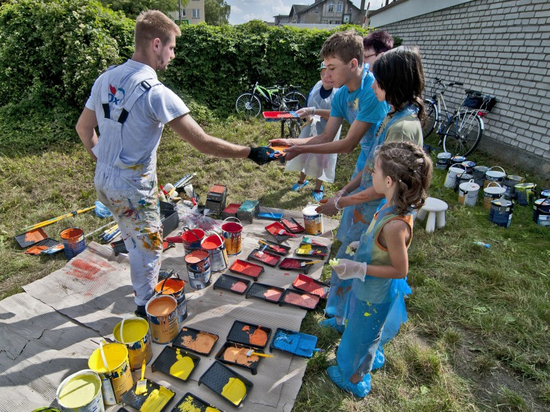 Painting event Dulux Lets Colour - Leszno | Let's Colour | Portfolio