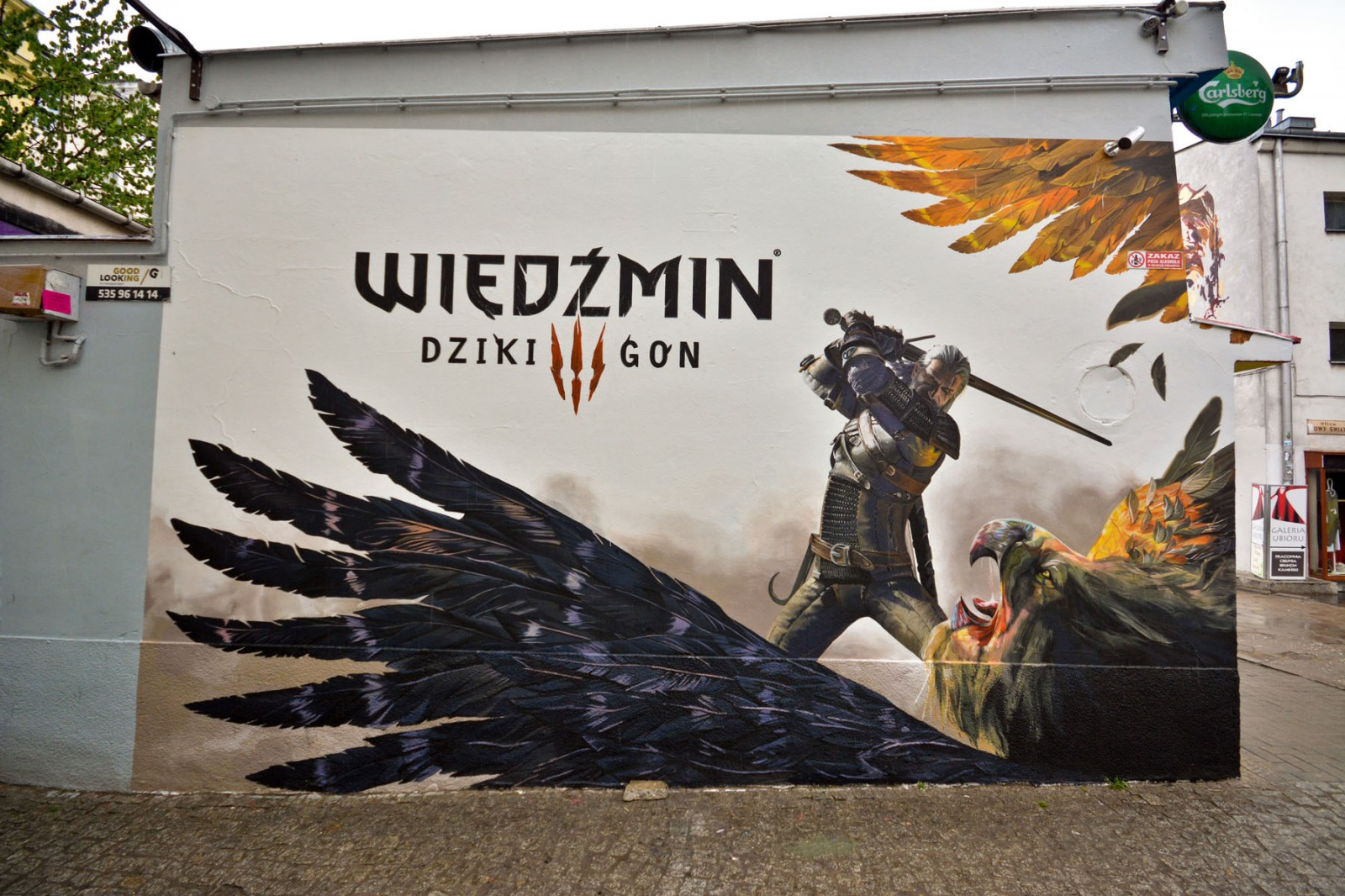 Spiel The Witcher: Wild Hunt in Warschau Pavillons Nowy Swiat | The Hexer: Wild Hunt Spiel | Portfolio