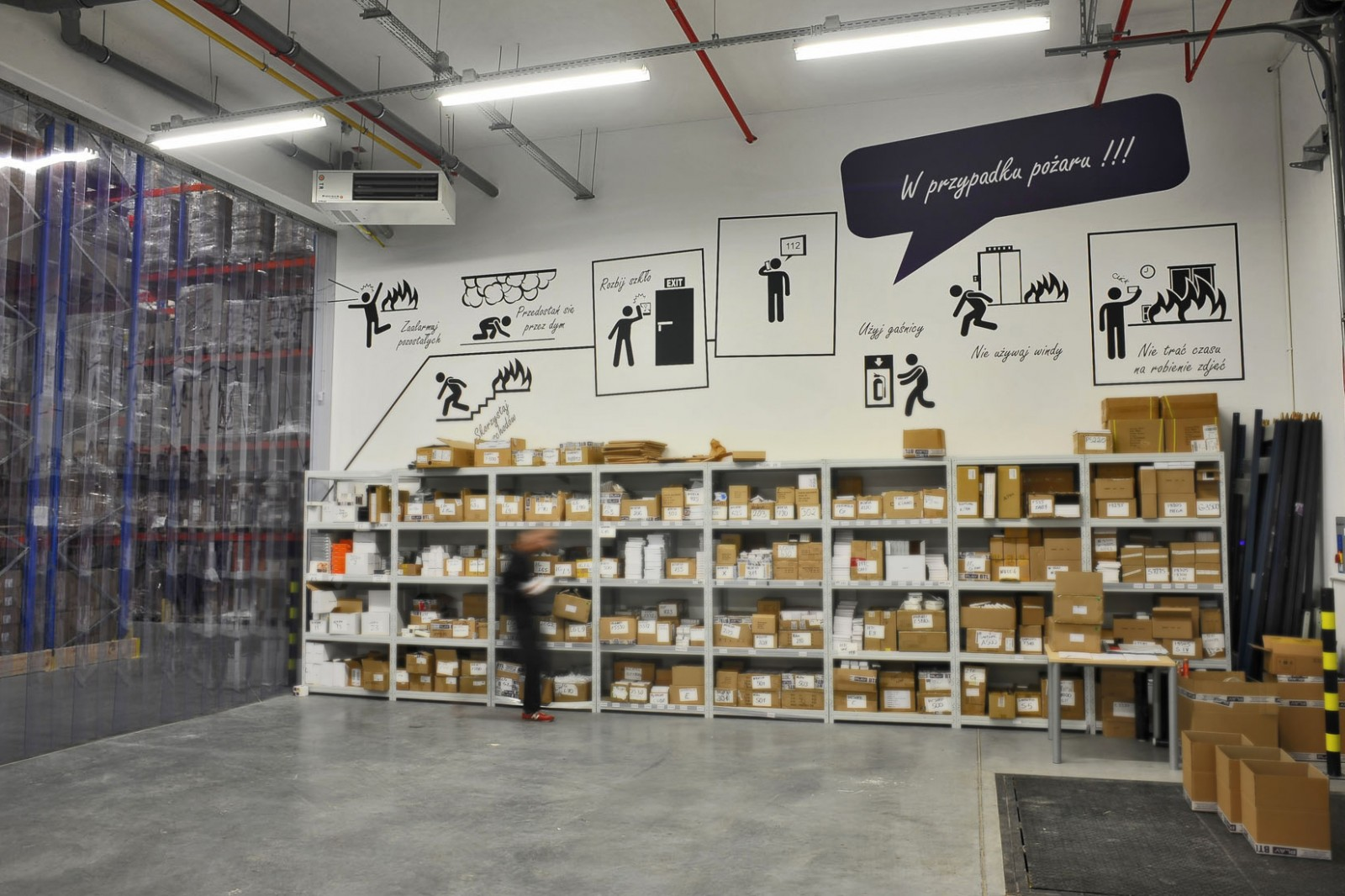 Warehouse Play in Warsaw | Warehouse interior | Portfolio