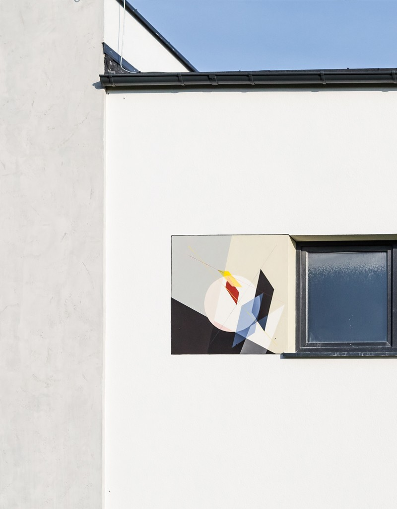 Wall paintings on building facades in Futura Park housing complex in Gdansk | Osiedle Futura Park | Portfolio