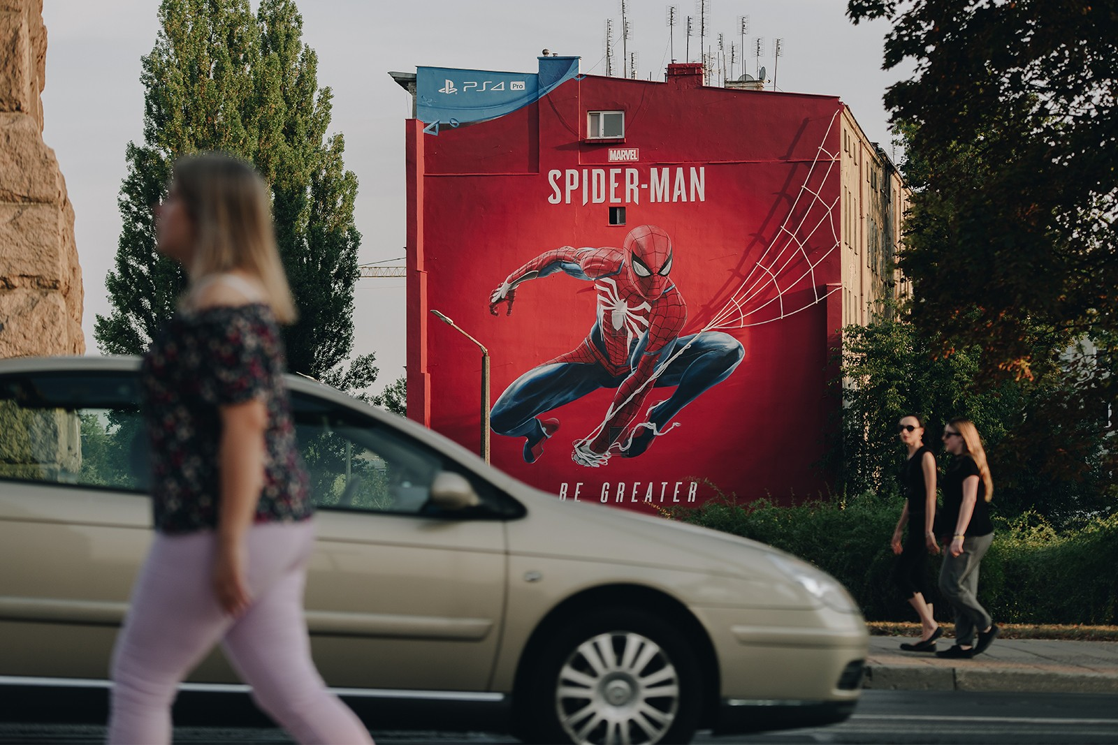 Mural MARVEL dla Sony PlayStaion we Wrocławiu.jpg | SPIDER-MAN BE GREATER | Portfolio