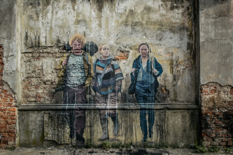 Raining mural series the rain netflix for netflix cracow | The Rain  | Portfolio