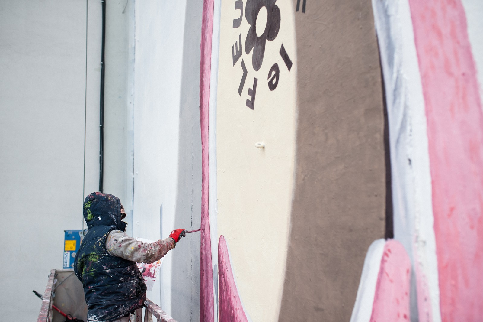 5. hand-paited advertising mural on bracka street for converse | GOLF le FLEUR* x CONVERSE | Portfolio