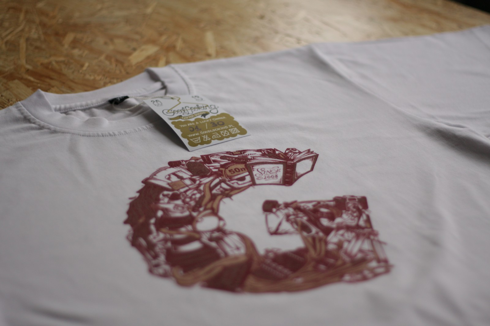 Warsaw Printed T-shirts with GLS company logo | Limited collection of GLS T-shirts | Backstage