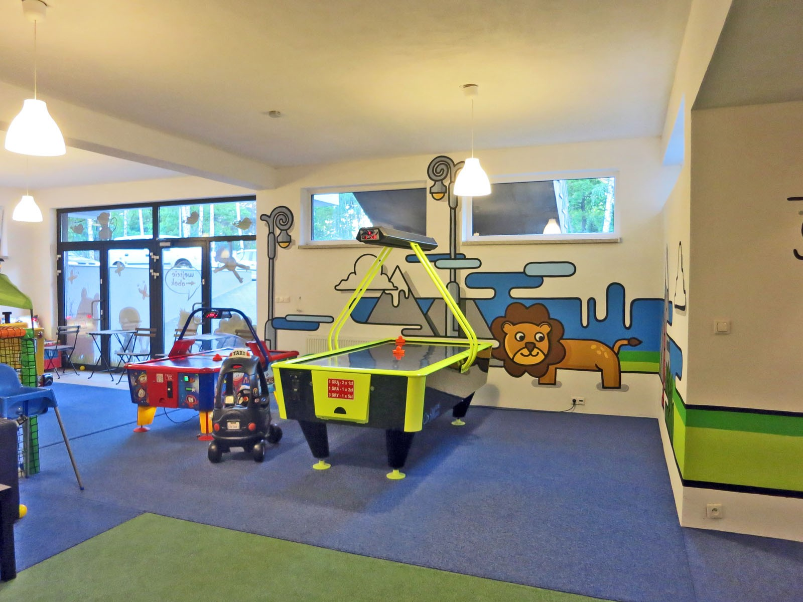 Children's playground inside City Zoo - Stara Milosna | Playroom | Portfolio