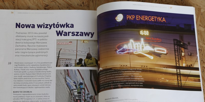 Article in the magazine Dobra Energia | Good Energy | Publications | About us