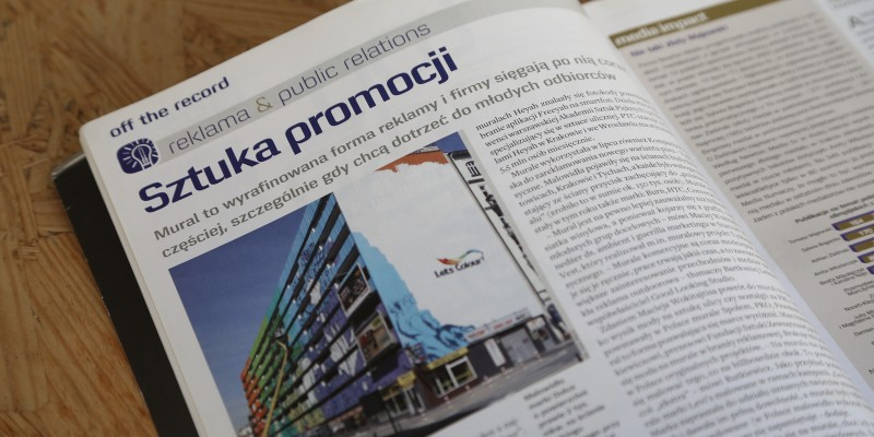 Article in the Press magazine | PRESS | Publications | About us