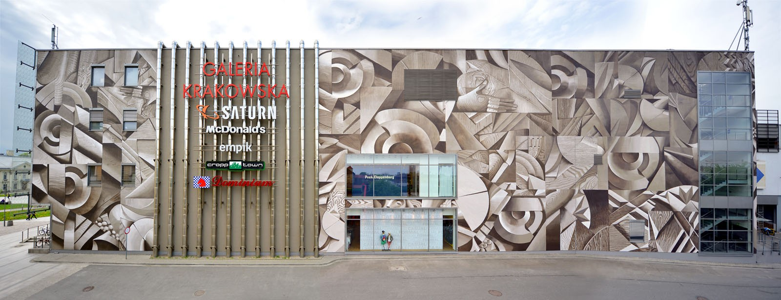 Galeria Krakowska mural in Cracow shopping mall Pawia street | Artistic Murals | Our offer