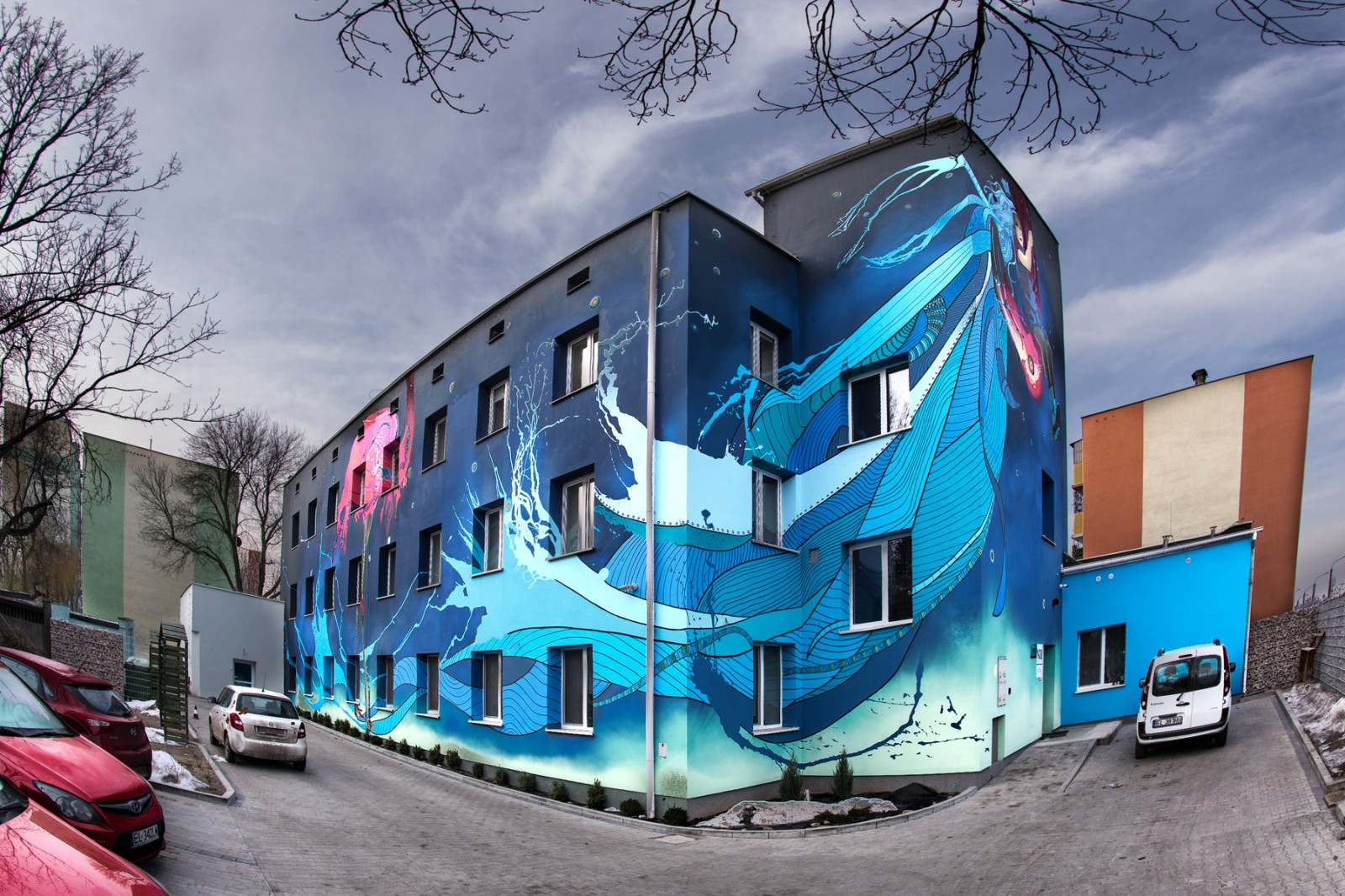 Painted Hospice for Children building in Lodz Foundation Gajusz | Hospice – Gajusz Foundation  | CSR | About us