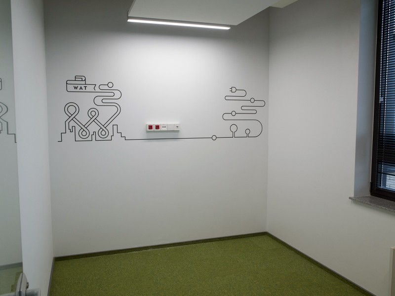 Wall Design WATT - Firmensitz Fortum in Breslau | Firmensitz | Portfolio